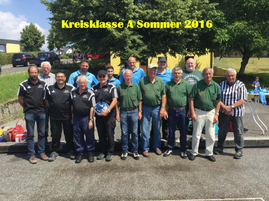 Aufstieg in Kreisliga 2016