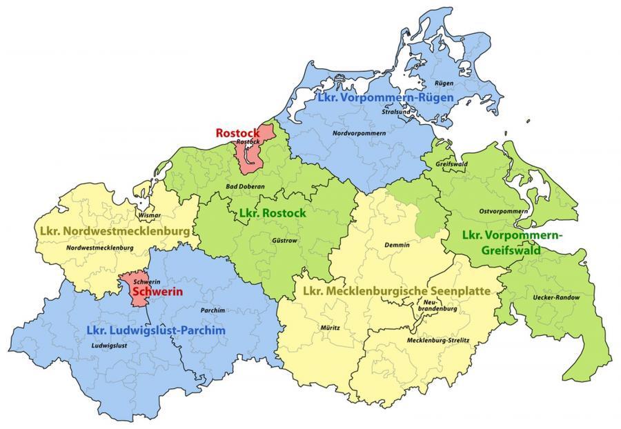 Güstrow Karte.Kreisschützenverband Güstrow E V