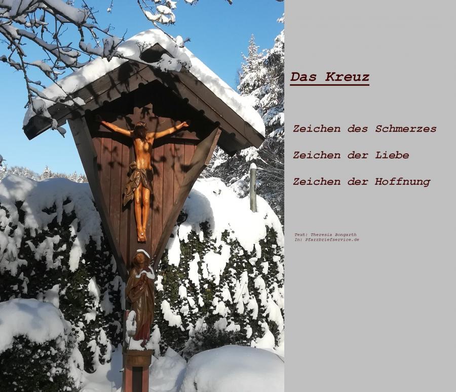 Kreuz Winter