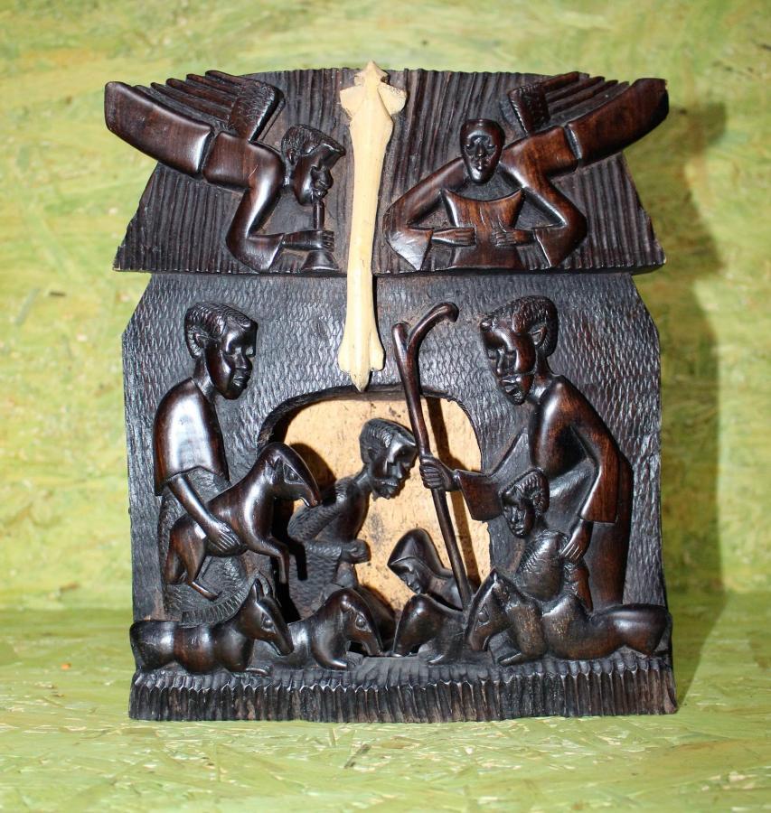 Krippe aus Kenia