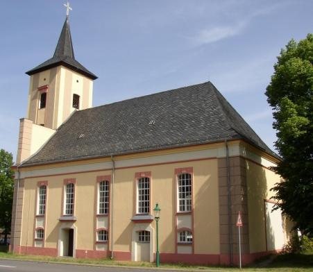 Kronen Kirche Märkisch Buchholz