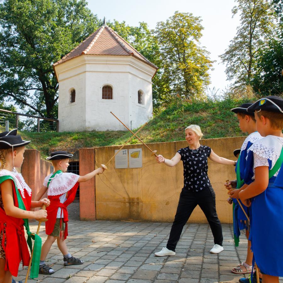Fechten_Festungsspiele Foto: Andreas Krufczik