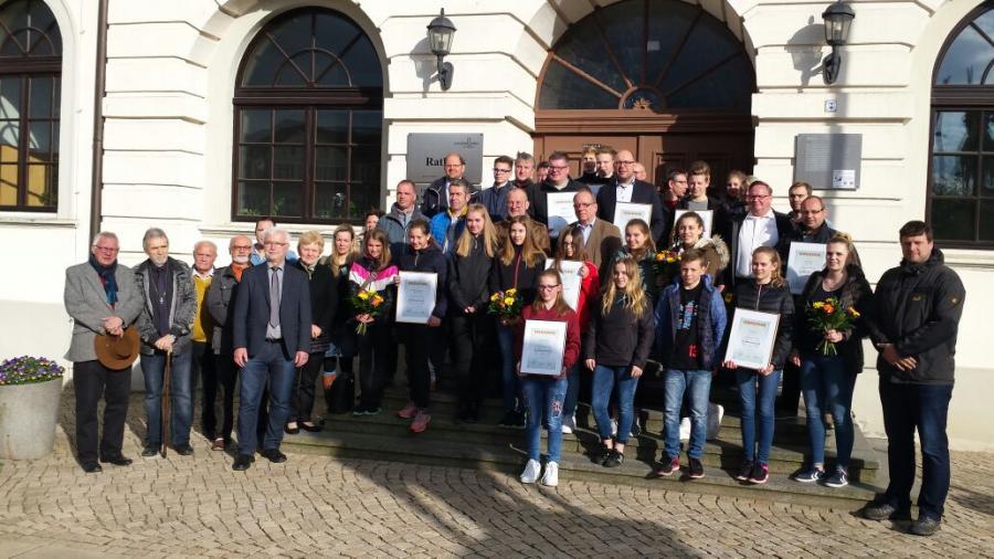 LK Börde und Kreisspordbund ernennen Landesleistungsstützpunkte, mit dabei der SV Oebisfelde/Handball. 19.04.2017