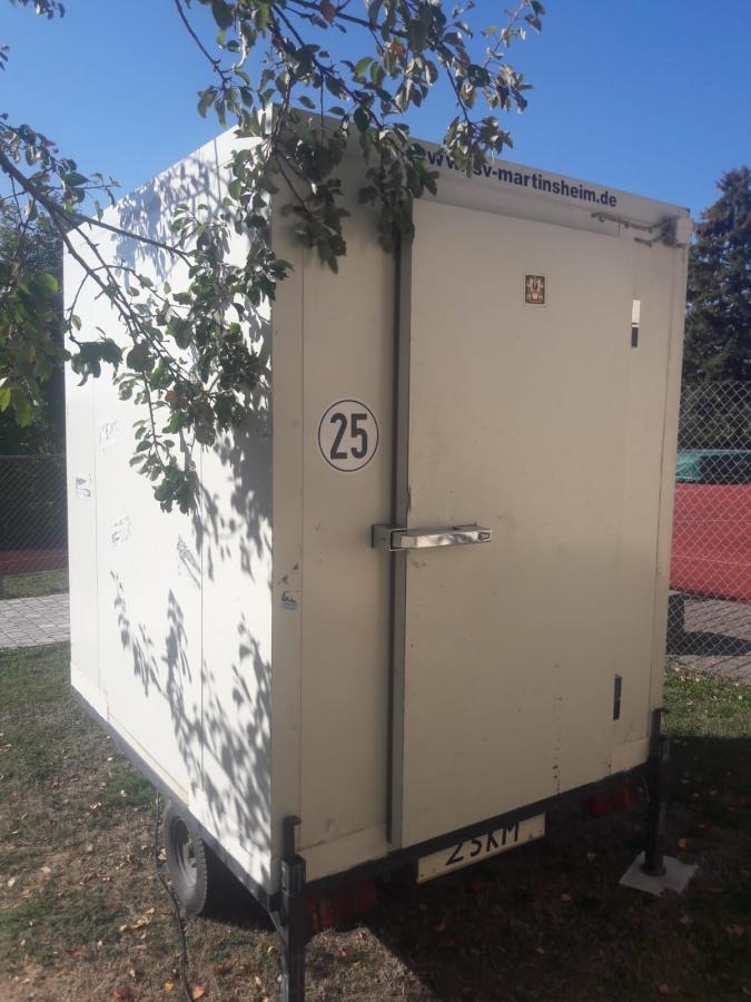 Kühlwagen außen