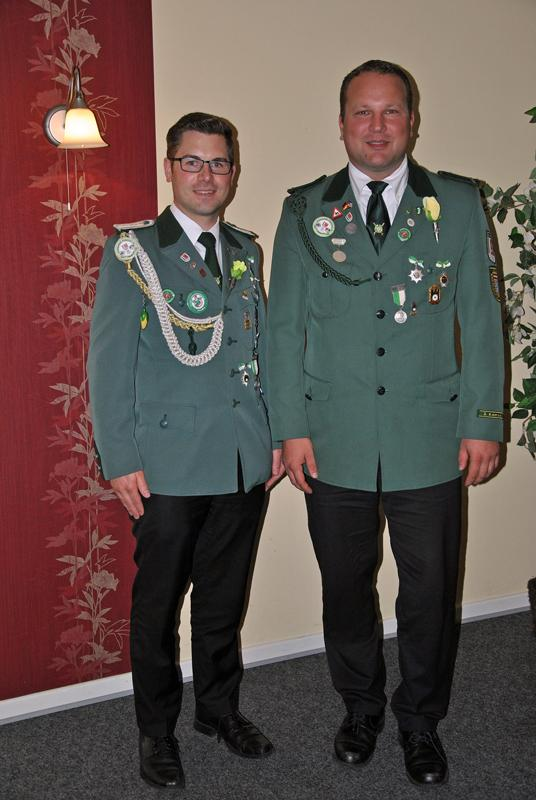 Kompanieführer Grüne Schützenkompanie