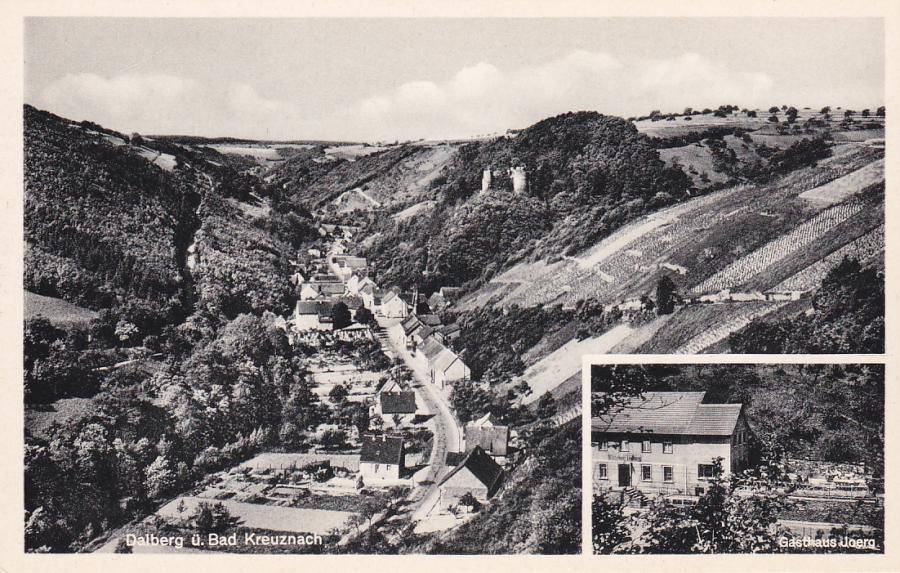 Gasthaus St. Hubertus historische Postkarte