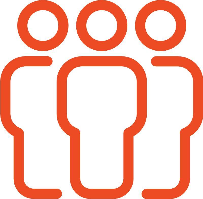 Kunden orange