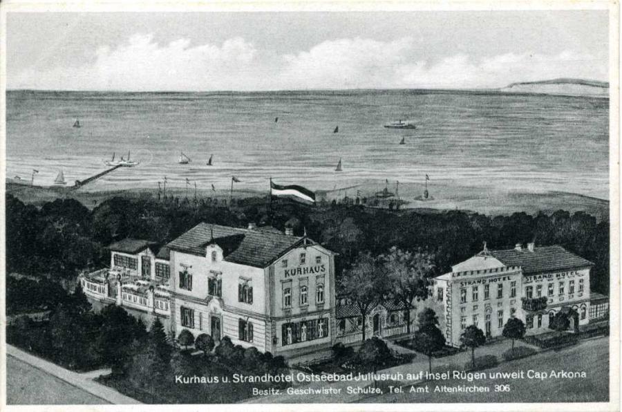 Kurhaus u. Strandhotel Ostseebad Juliusruh
