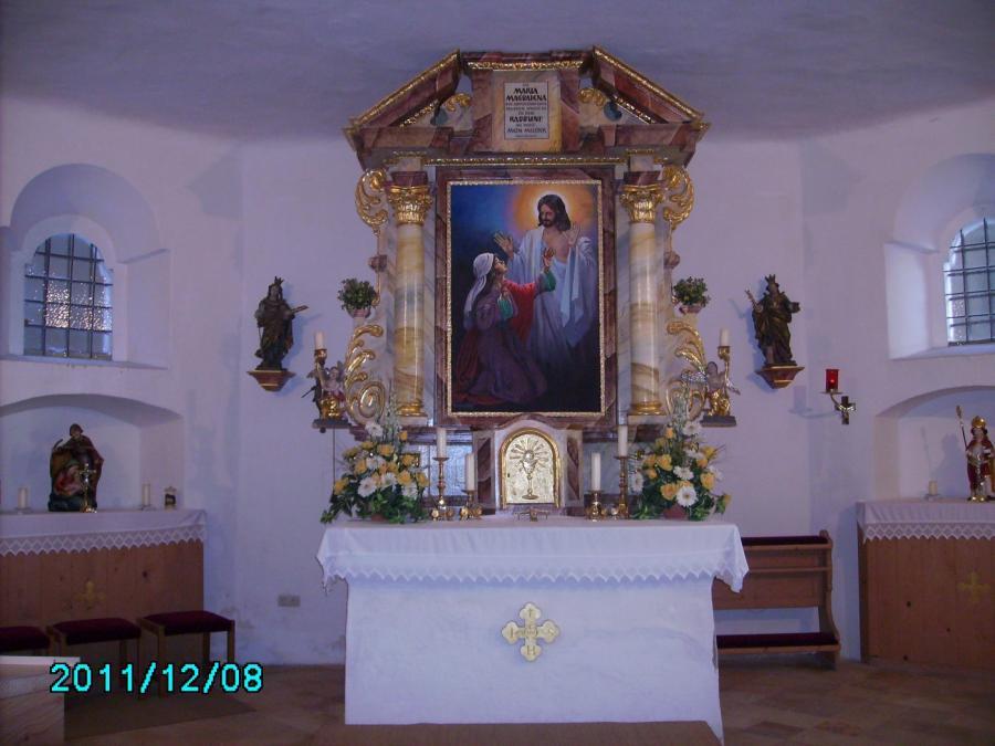 Altarraum Maisrieder Kirche