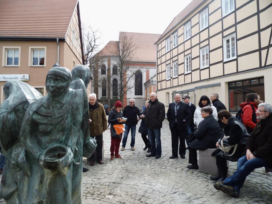 Stadtführung am Basewitzbrunnen