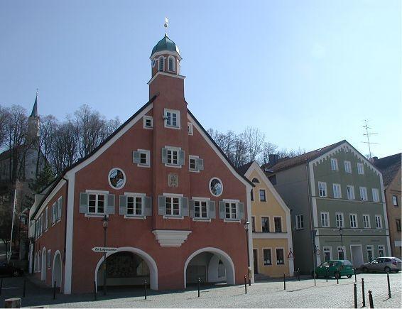 Das Rathaus der Stadt Mainburg
