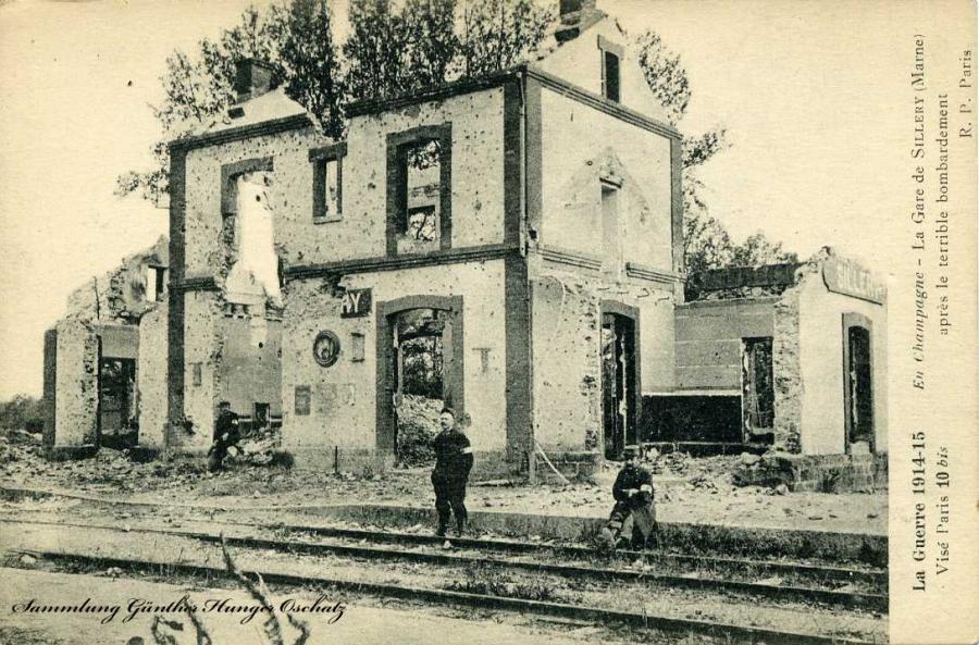 La Gare de Sillery (Marne)
