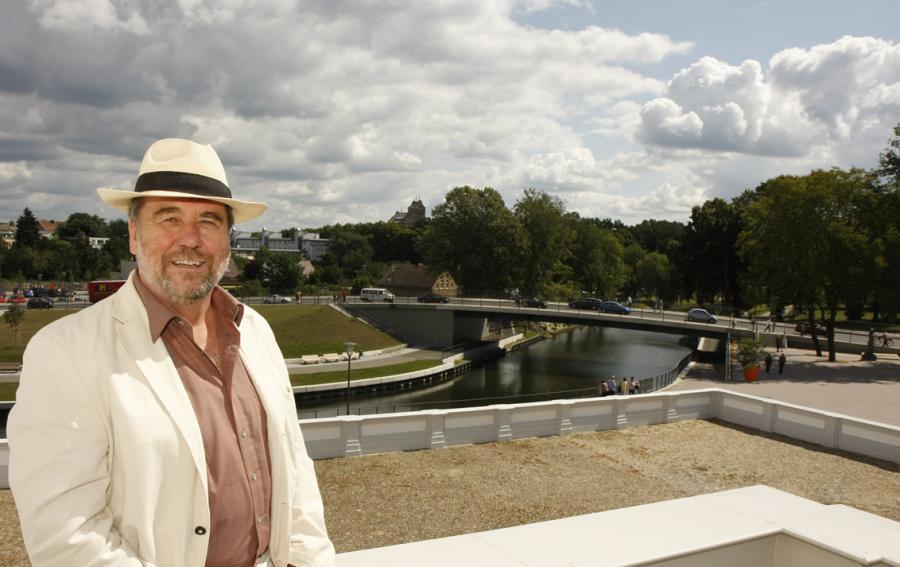 Bürgermeister Laesicke während der LAGA 2009. (Foto: Jurisch)