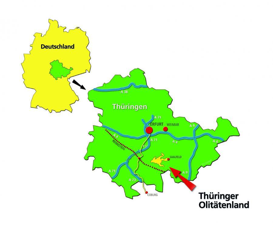 Karte Lage Olitätenland