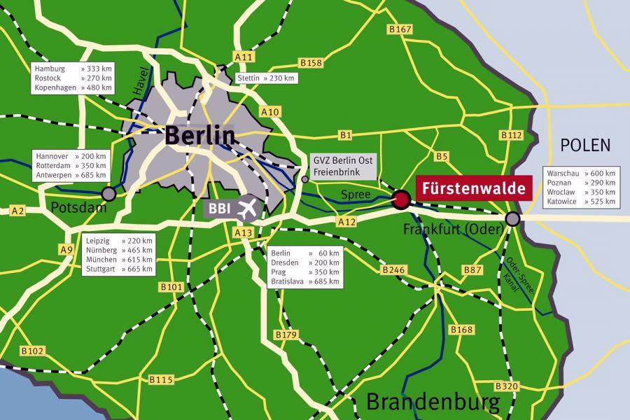 Lage und Verkehrsanbindungen