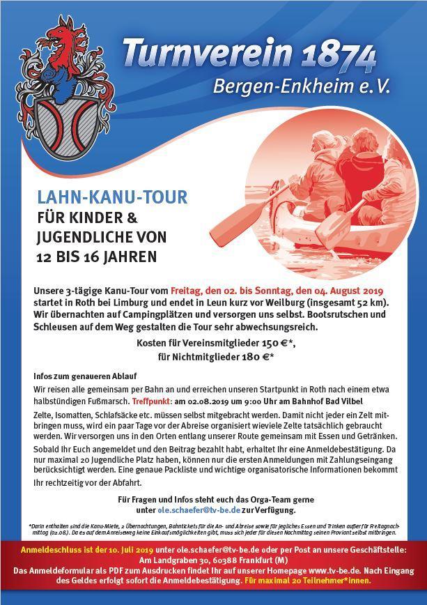Lahn-Kanu-Tour