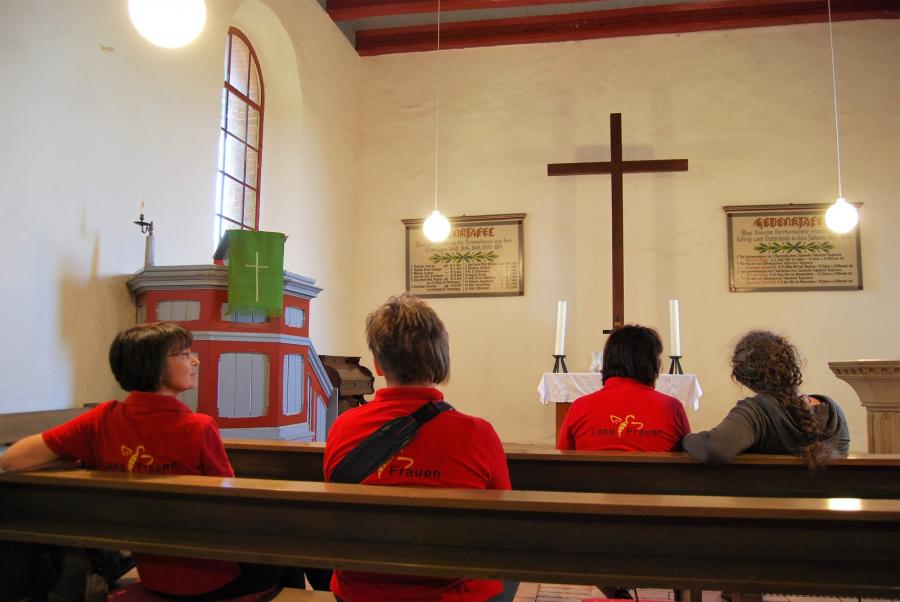 Mescheriner Kirche Innenansicht
