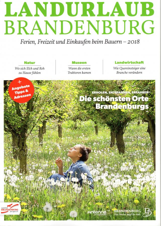 Landurlaub Brandenburg 2018