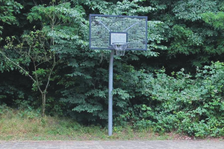 Lanke Spielplatz Am Obersee Streetballkorb, Foto Gemeinde Wandlitz