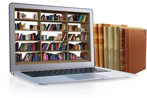 Bibliothekskatalog und Benutzerkonto mit Login