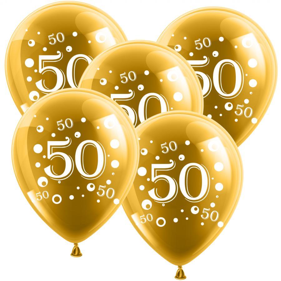 Luftballons 50