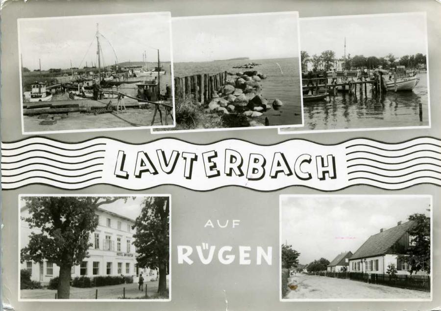 Lauterbach auf Rügen 1960