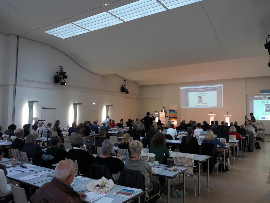 LEADER/CLLD Jahreskonferenz 14.09.2017, Quedlinburg