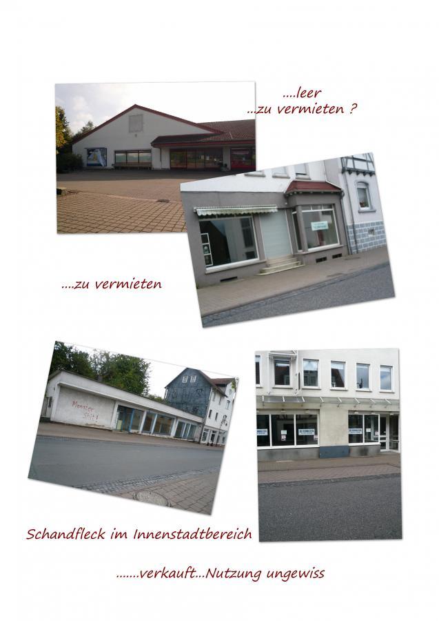Leerstände von Geschäftsinmobilien