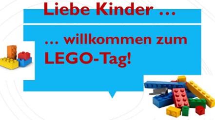 Willkommen zum Lego-Tag