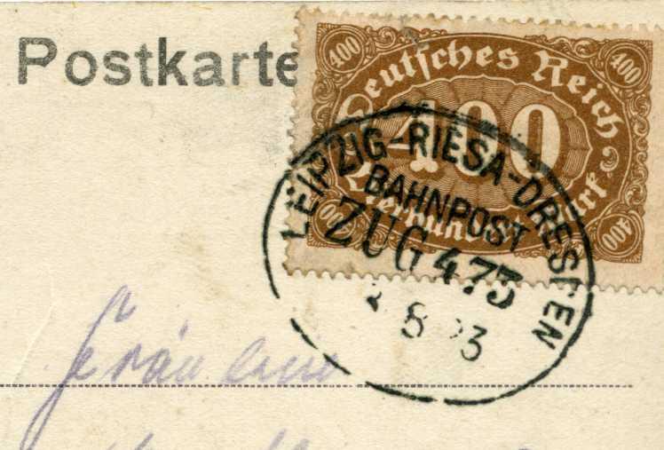 Leipzig -Riesa 1923