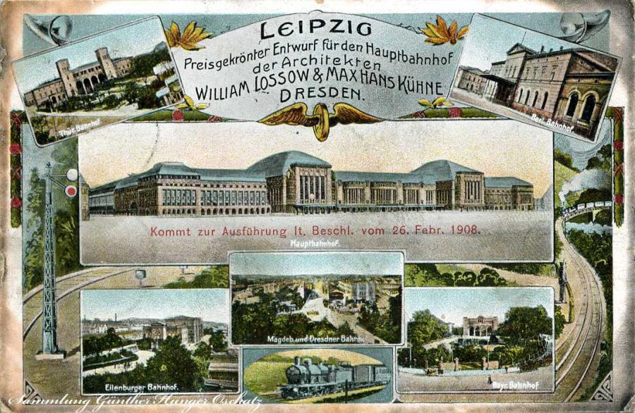 Leipzig Preisgekrönter Entwurf für den Hauptbahnhof