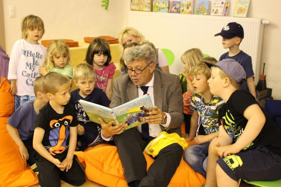 Der Bürgermeister als Vorlesepate