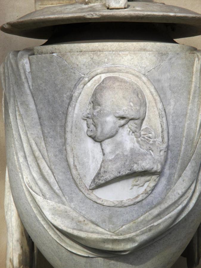 Das Grab von General v. Lestwitz