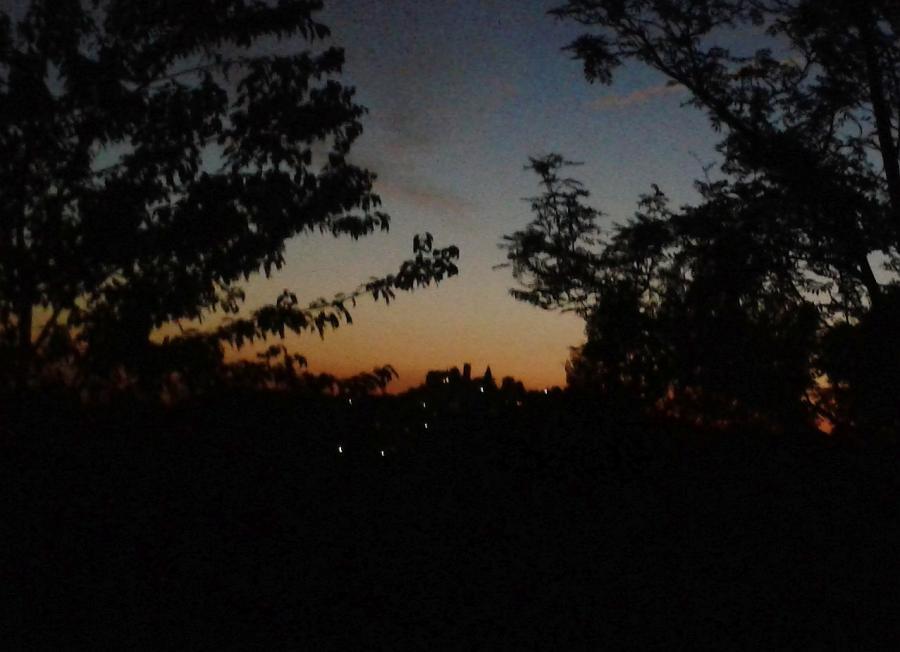 Leuchtenberg Abenddämmerung