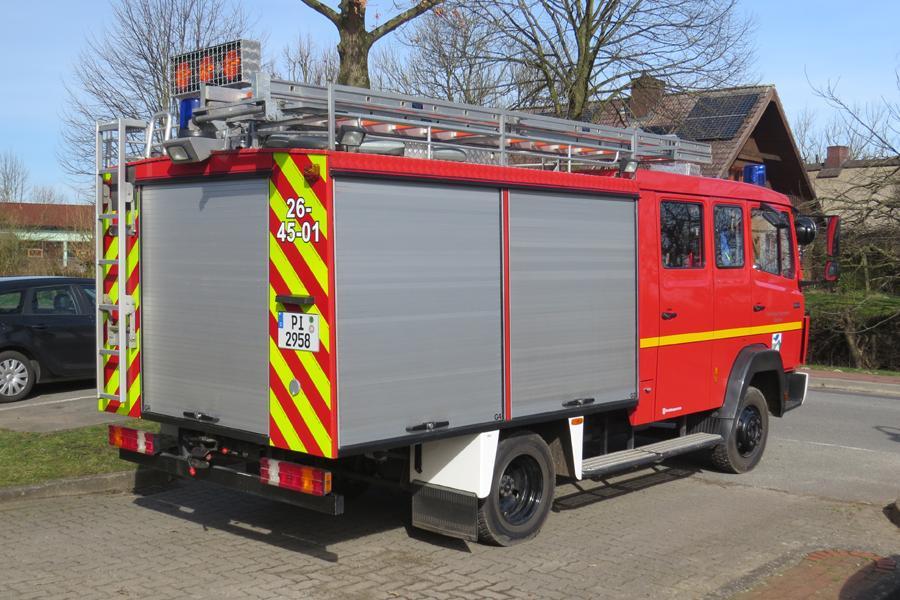 Löschgruppenfahrzeug LF 8/6 der Feuerwehr Seester (Foto: Kay Stieler)