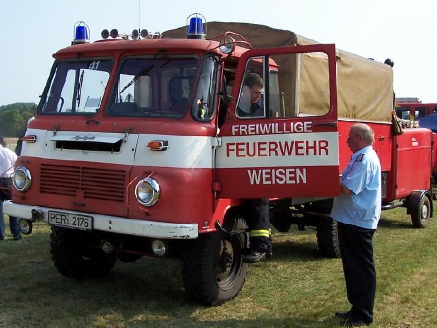 LF8 beim Amtsausscheid 2011