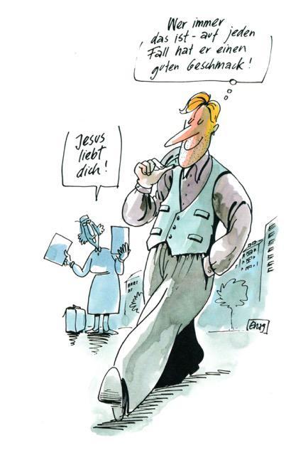 Cartoon von Erich Rauschenbach