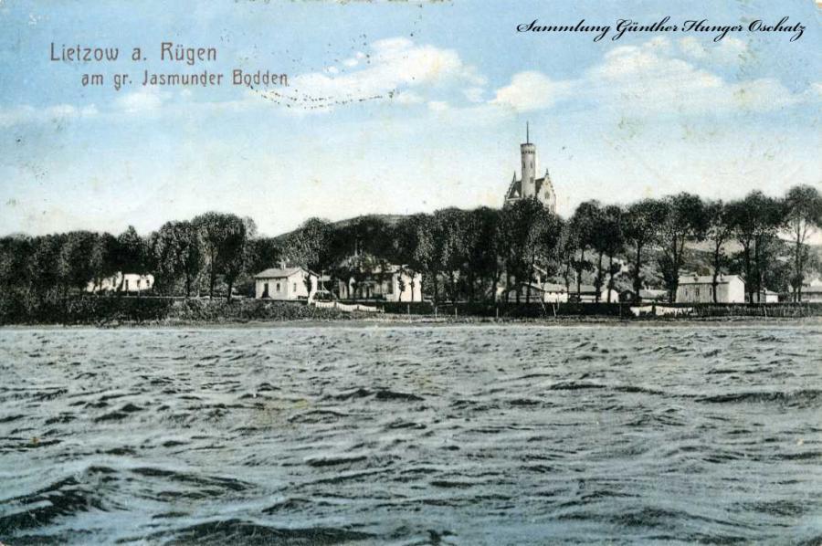 Lietzow a. Rügen am gr. Jasmunder Bodden