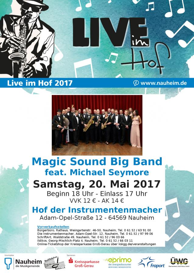 Live im Hiof 2017: Magic Sound Big Band feat. Michael Seymore