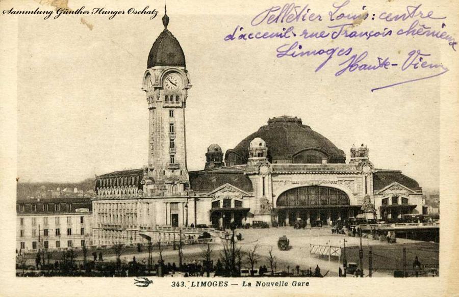 Limoges La Nonvelle Gare