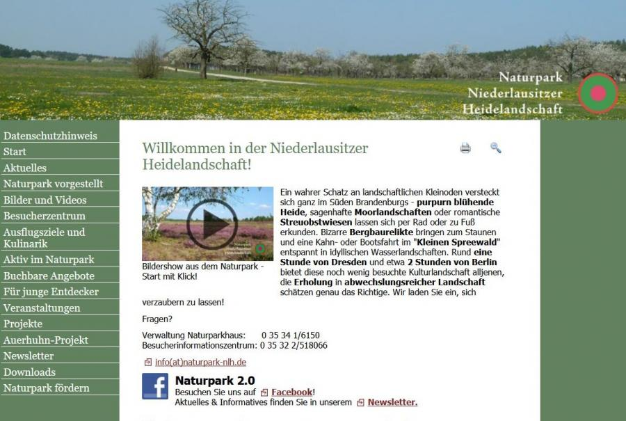 Link Niederlausitzer Heidelandschaft®www.naturpark-nlh.de