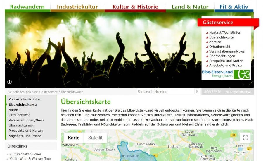 Link Übersichtskarte®www.elbe-elster-land.de