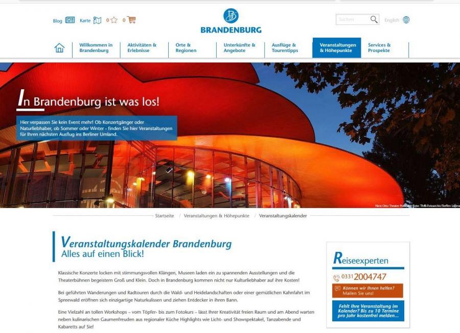 Link Veranstaltungen®www.reiseland-brandenburg.de
