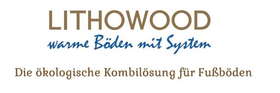 Lithowood-Logo mit Text