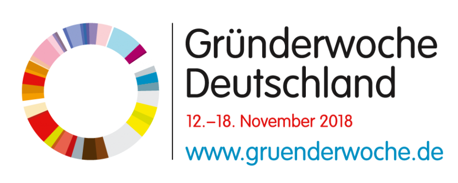 Logo Gründerwoche