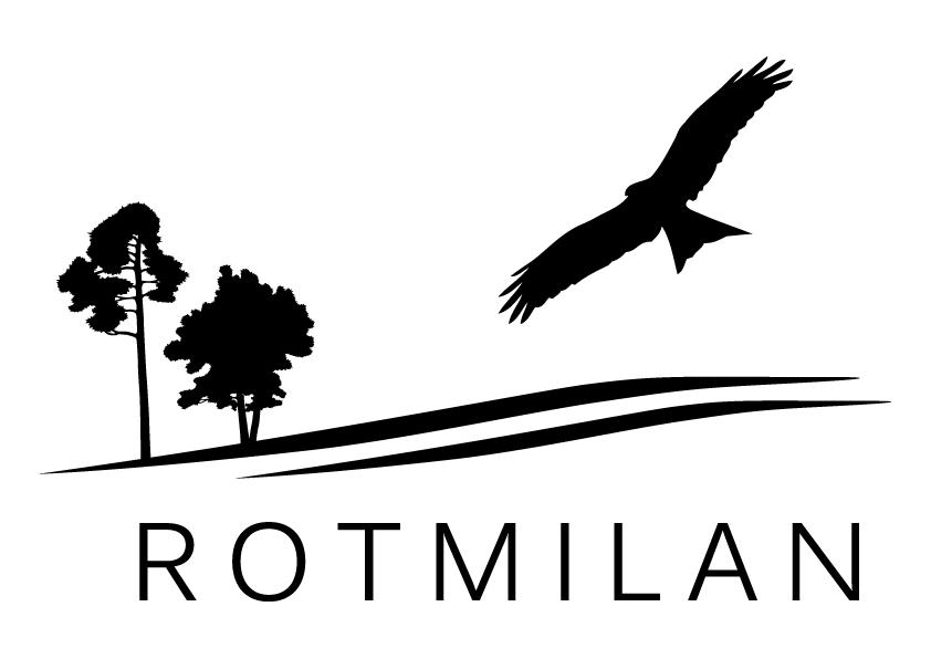 Logo Rotmilan schwarz