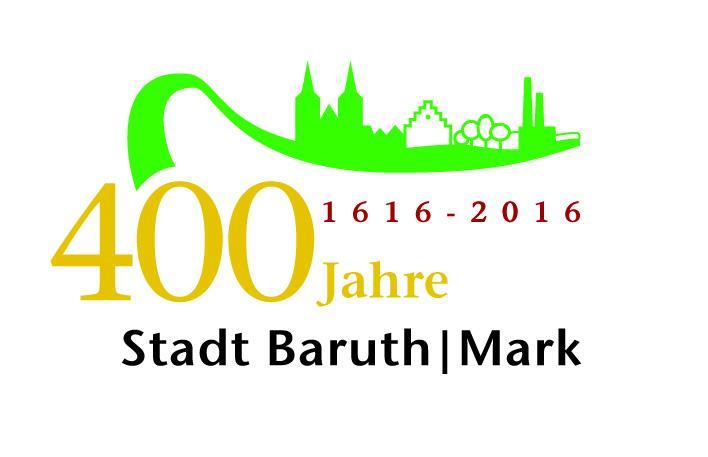 Logo 400 Jahre Stadtrecht Baruth
