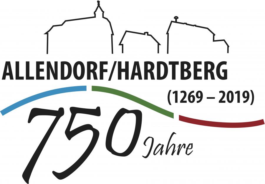 Logo 750 Jahre Allendorf / Hardtberg