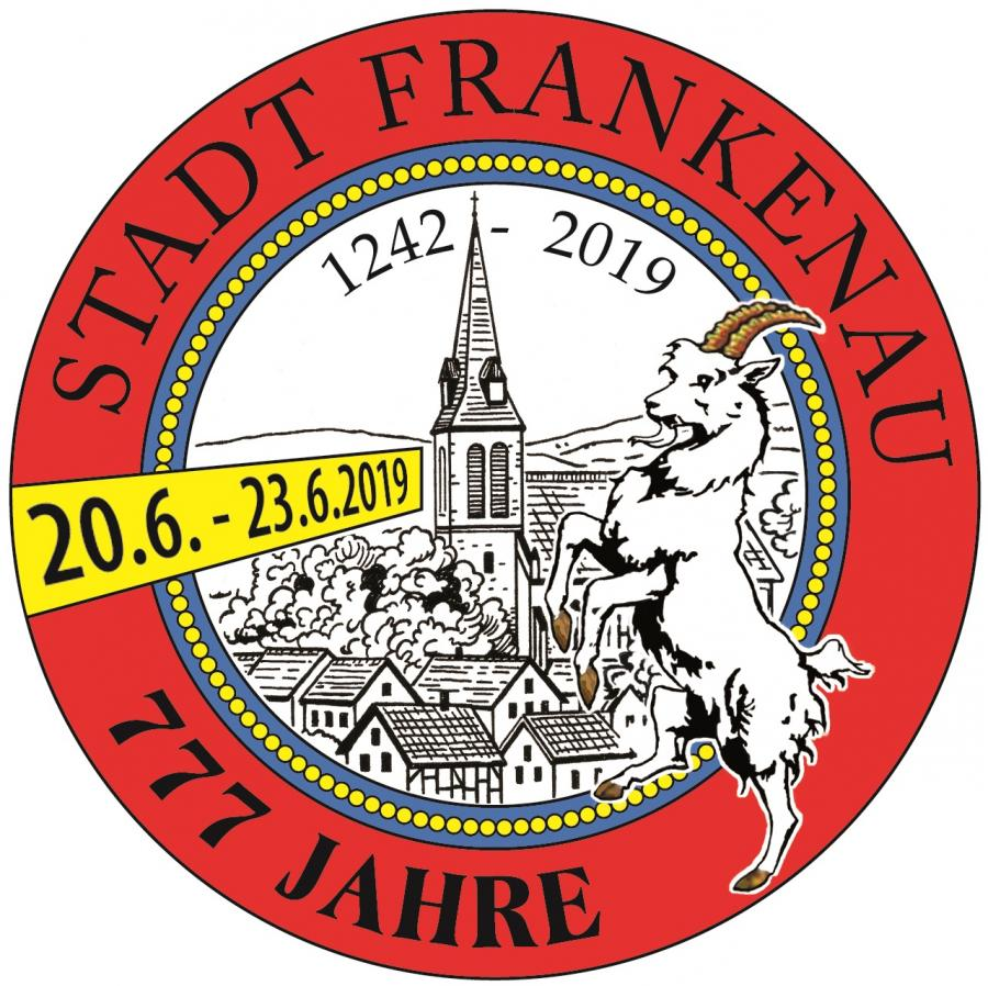 Logo 777 Jahre Stadt Frankenau