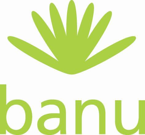 Logo: BANU, Bundesweiter Arbeitskreis der staatlich getragenen Bildungsstätten im Natur- und Umweltschutz.
